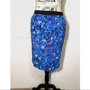 Boden Pencil Skirt W/ Side Pockets